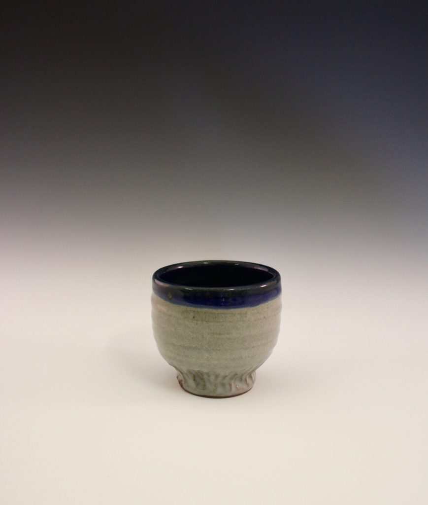 Blue Celedon on Stoneware